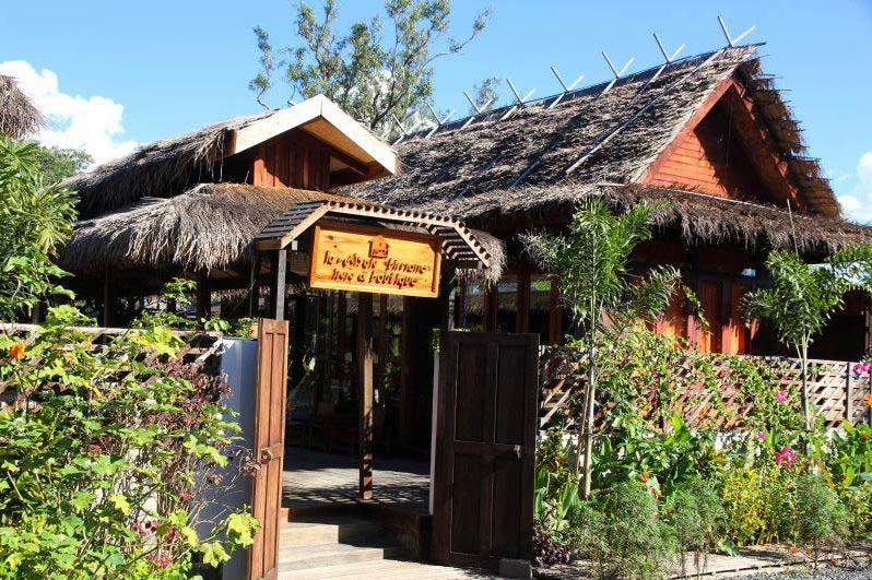 Vooraanzicht van La Maison Birmane in Burma - La Maison Birmane - Myanmar - foto: La Maison Birmane