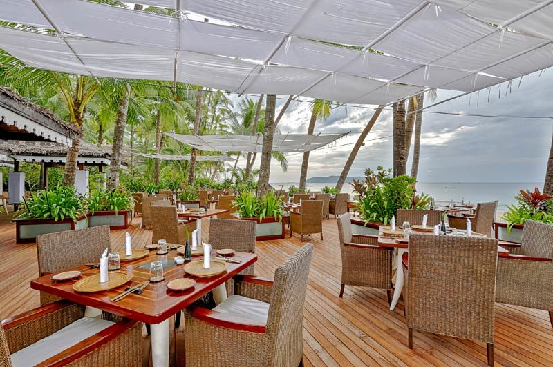 restaurant Sandoway Resort - Sandoway Resort - Myanmar - foto: Sandoway Resort