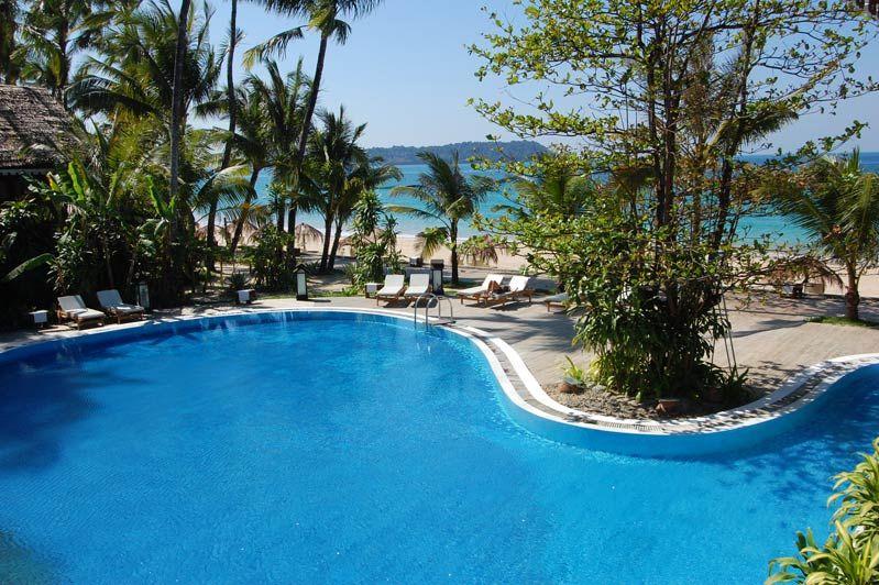 zwembad Sandoway Resort - Sandoway Resort - Myanmar - foto: Sandoway Resort