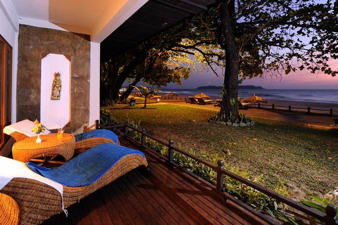 veranda Thande Beach Hotel - Thande Beach Hotel - Myanmar - foto: Thande Beach Hotel