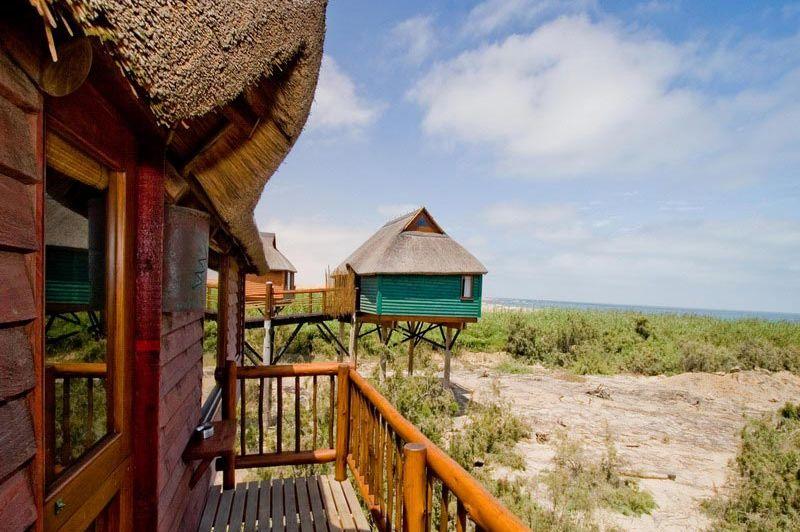 uitzicht kamers - The Stiltz - Swakopmund - Namibië