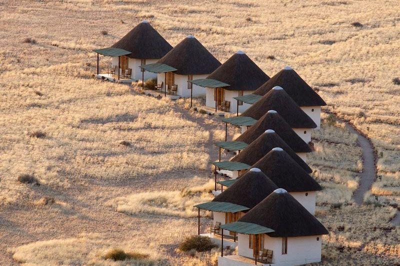 kamers van boven af - Desert Homestead - Sossusvlei - Namibië