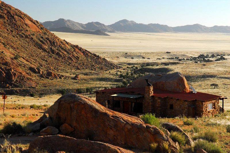 uitzicht - Klein Aus Vista - Eagles Nest - Aus - Namibië