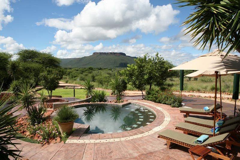 zwembad met uitzicht - Waterberg Guest Farm - Waterberg - Namibië