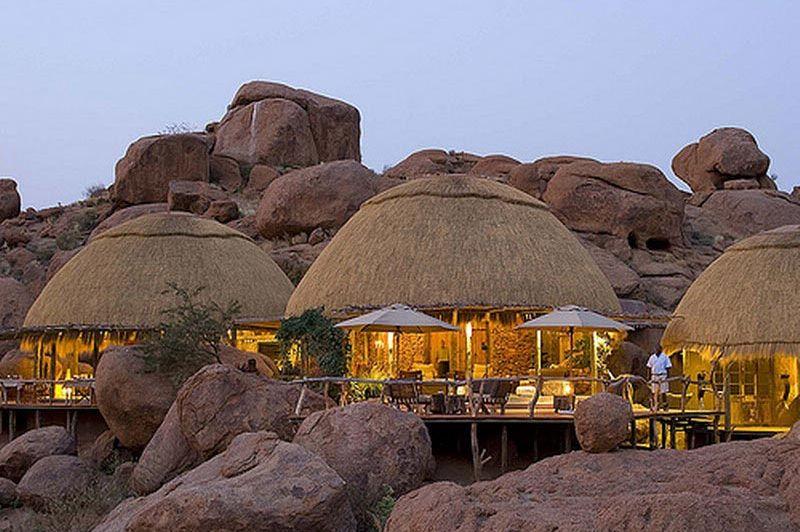 bungalow - Camp Kipwe - Damaraland - Namibië