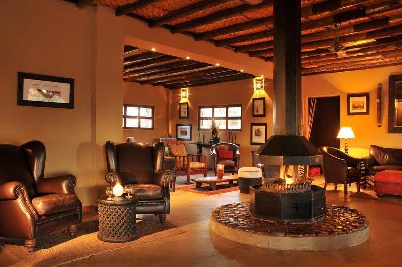 Lobby - Intu Afrika Zebra Lodge - Namibië