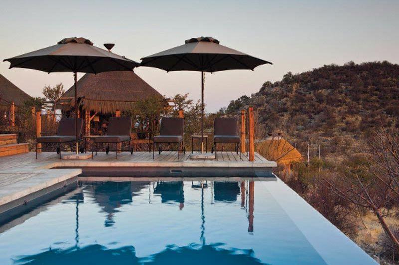 zwembad - Dolomite Camp - Namibië