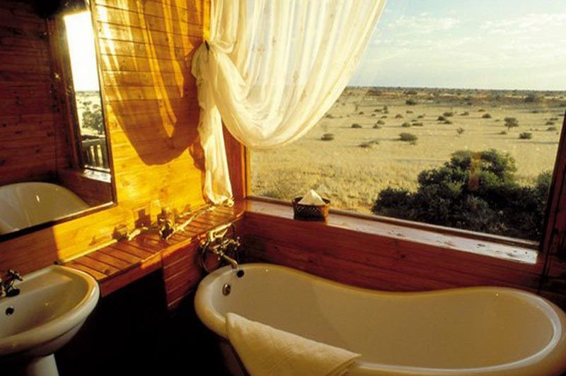 Badkamer Bagatelle Kalahari Game Ranch - Bagatelle Kalahari Game Ranch - Namibië