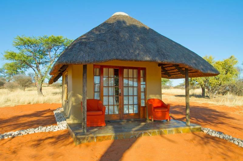 Intu Afrika Camelthorn lodge - Kalahari Desert - Namibië - foto: lokale agent