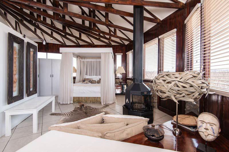 Vingerklip Lodge, slaapkamer - Damaraland - Namibië - foto: lokale agent