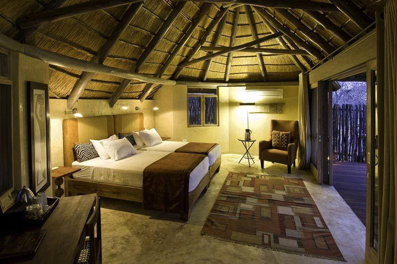 kamer interier Ongava Lodge - Ongava Lodge - Namibië - foto: Lokale agent