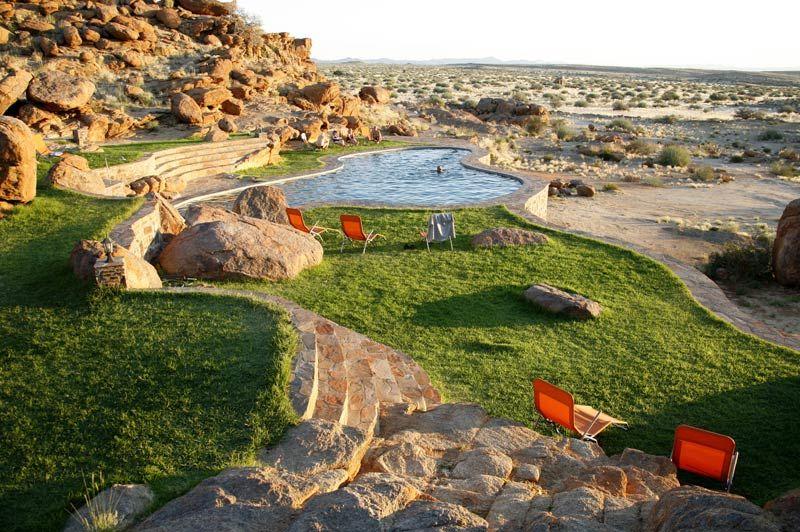 zwembad van Canyon Lodge - Canyon Lodge - Namibië - foto: Canyon Lodge