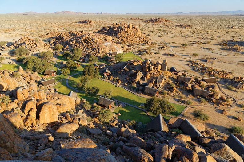 uitzicht van Canyon Lodge - Canyon Lodge - Namibië - foto: Canyon Lodge