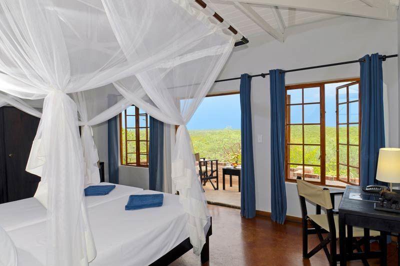 slaapkamer van Etosha Safari Lodge - Etosha Safari Lodge - Namibië - foto: Etosha Safari Lodge