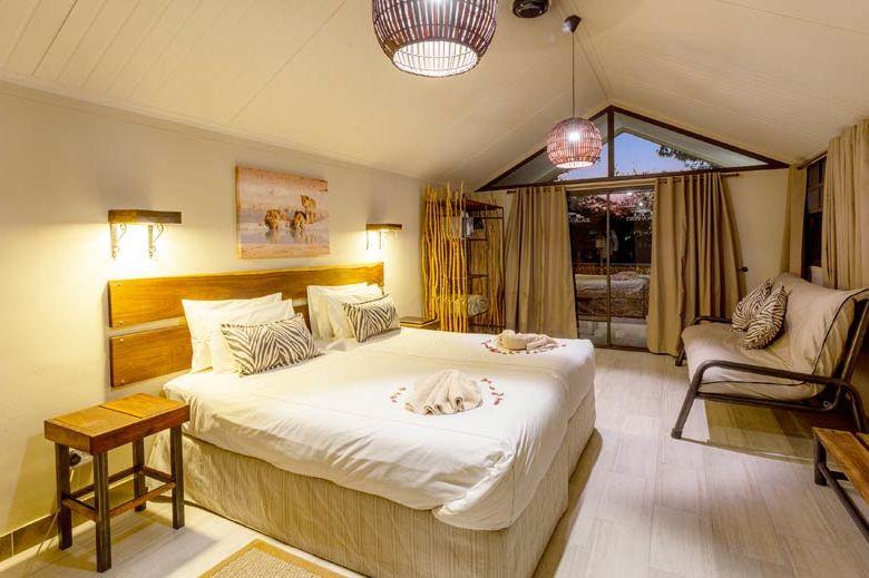 slaapkamer van Etosha Village - Etosha Village - Namibië - foto: Etosha Village