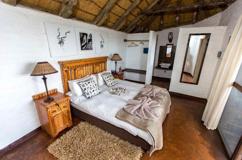 slaapkamer van Grootberg Lodge - Grootberg Lodge - Namibië - foto: Grootberg Lodge