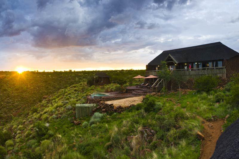 uitzicht van Grootberg Lodge - Grootberg Lodge - Namibië - foto: Grootberg Lodge