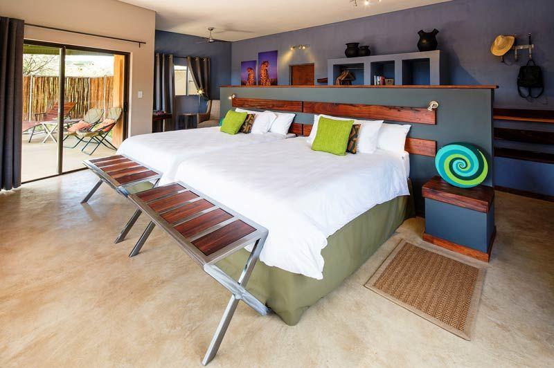 slaapkamer van Okonjima Plains Camp - Okonjima Plains Camp - Namibië - foto: Okonjima Plains Camp