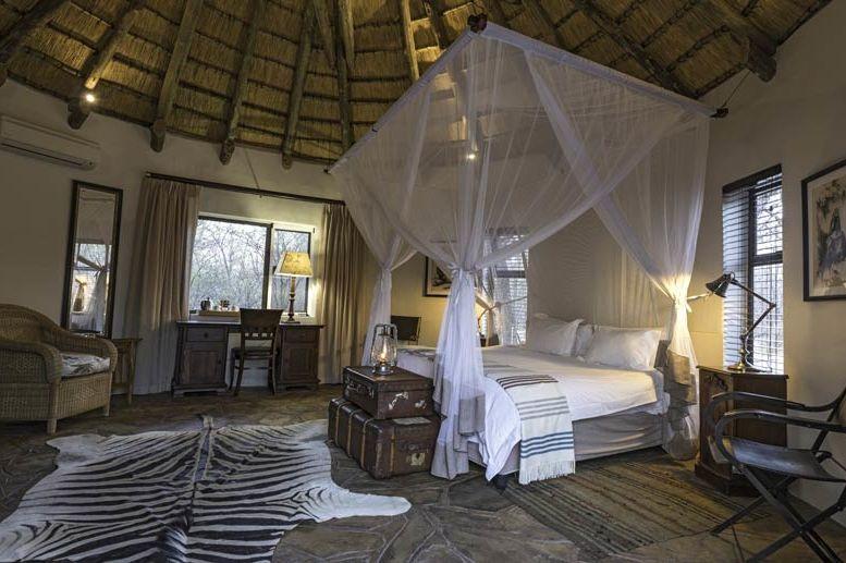 slaapkamer Onguma Etosha Aoba Lodge - Onguma Etosha Aoba Lodge - Namibië - foto: Onguma Etosha Aoba Lodge