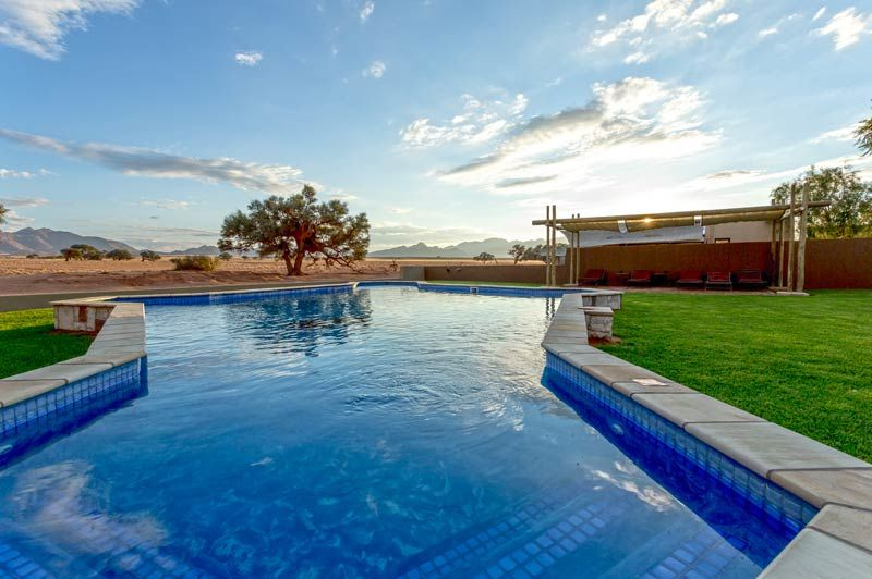 zwembad van Sossusvlei Lodge - Sossusvlei Lodge - Namibië - foto: Sossusvlei Lodge