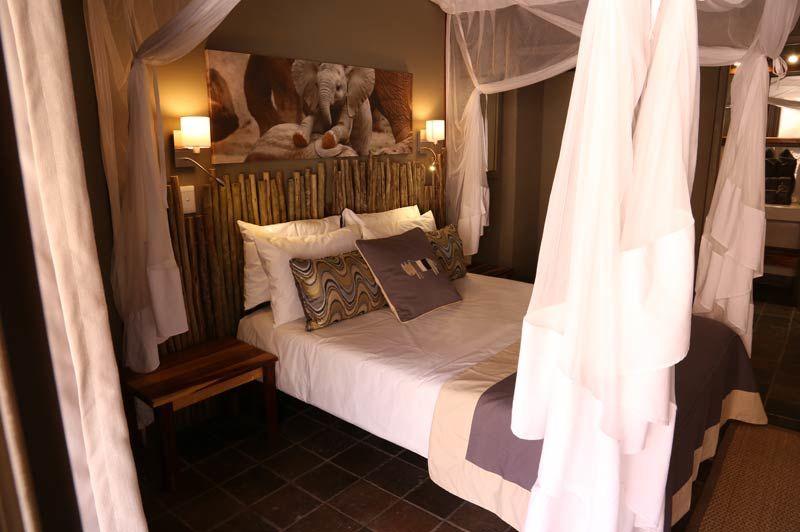 slaapkamer van Twyfelfontein Country Lodge - Twyfelfontein Country Lodge - Namibië - foto: Twyfelfontein Country Lodge