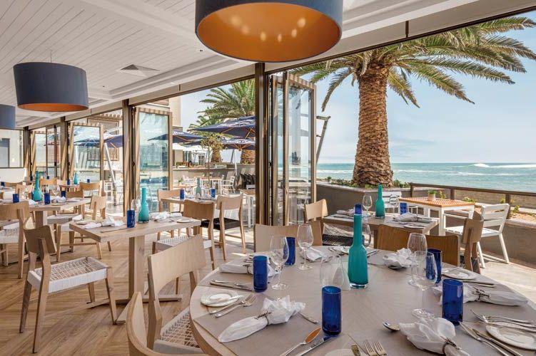 restaurant van Strand Hotel - Strand Hotel - Namibië - foto: Strand Hotel