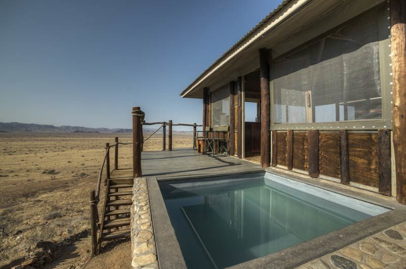zwembad Moon Mountain Lodge - Moon Mountain Lodge - Namibië - foto: Moon Mountain Lodge