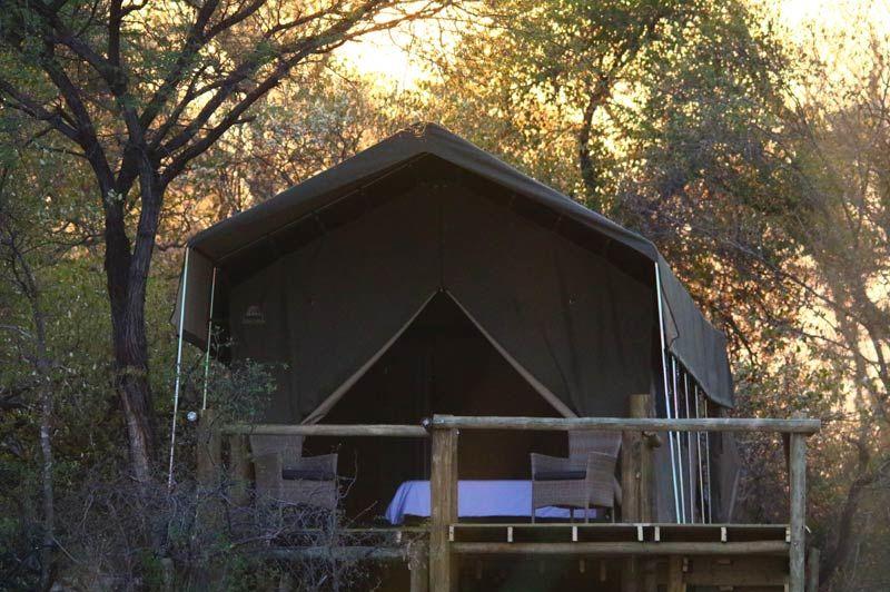 tent van Nambwa Lagoon Camp - Nambwa Lagoon Camp - Namibië - foto: Nambwa Lagoon Camp