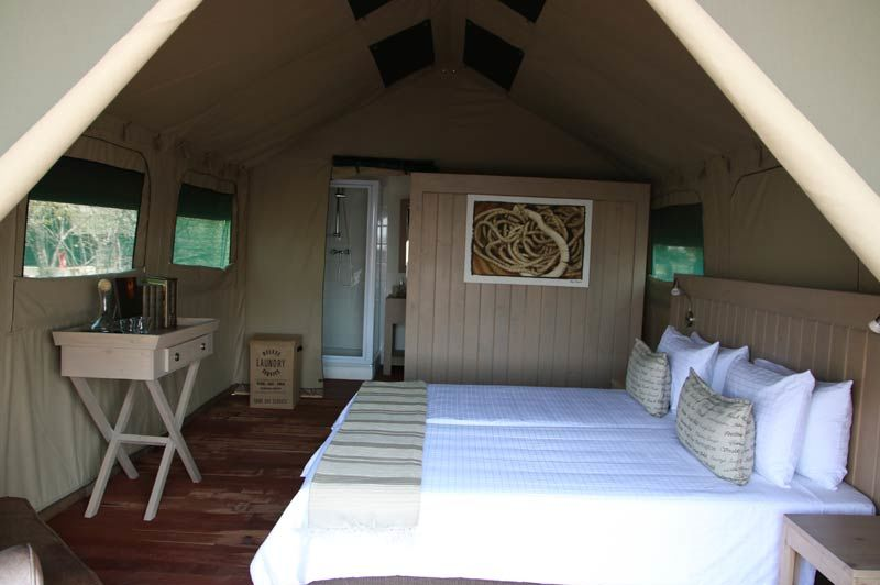 tent van Nambwa Lagoon Camp (2) - Nambwa Lagoon Camp - Namibië - foto: Nambwa Lagoon Camp