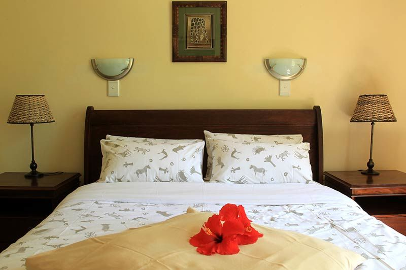 slaapkamer van Wabi Lodge - Wabi Lodge - Namibië - foto: Wabi Lodge