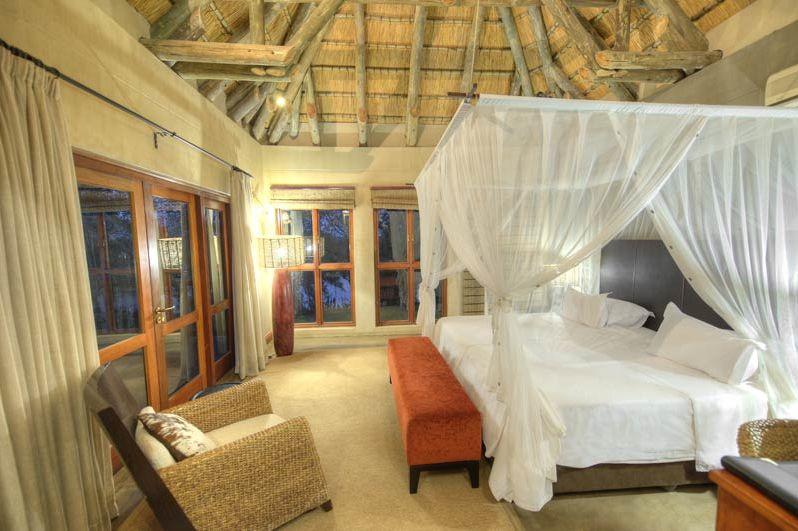 slaapkamer van Divava Okavango Resort - Divava Okavango Resort - Namibië - foto: Divava Okavango Resort