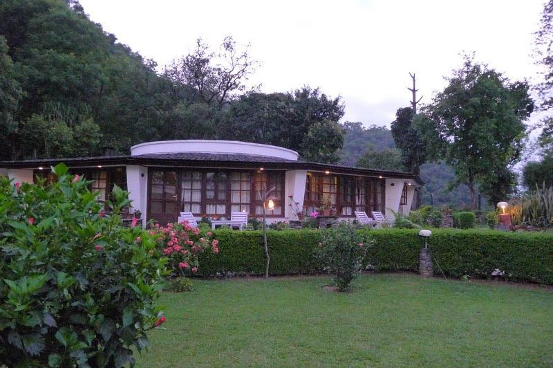 kamer met tuin - Fishtail Lodge - Pokhara - Nepal