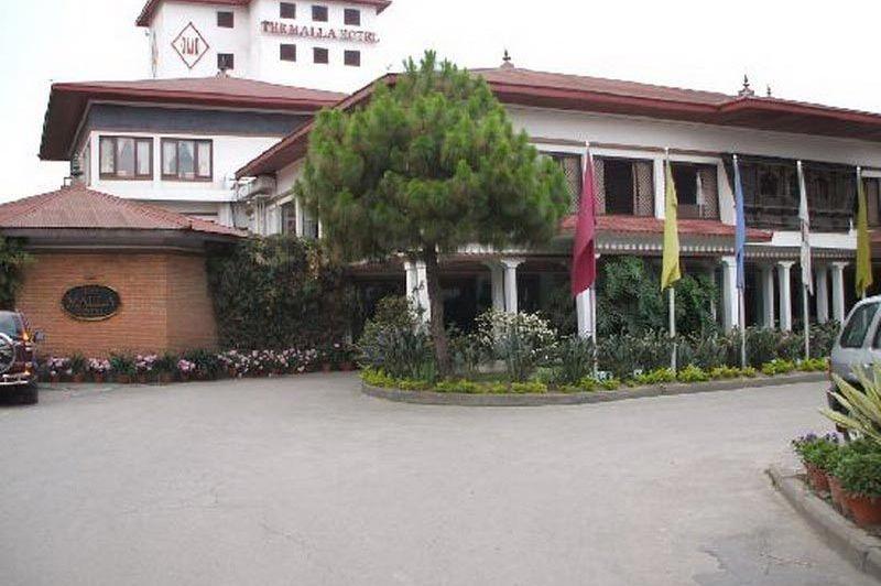 buiten - Hotel Malla - Kathmandu - Nepal