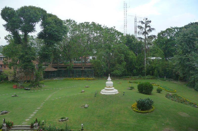tuin - Hotel Malla - Kathmandu - Nepal