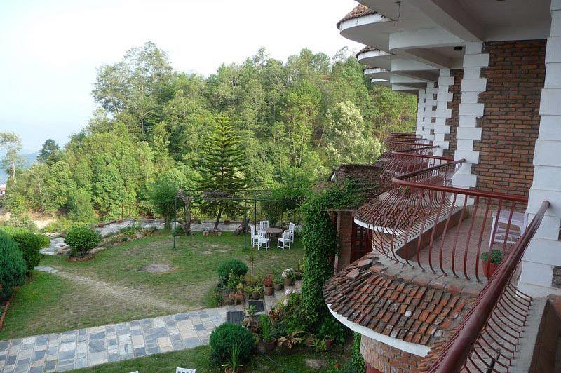 terras - Niva Niwa Lodge - Nagarkot - Nepal