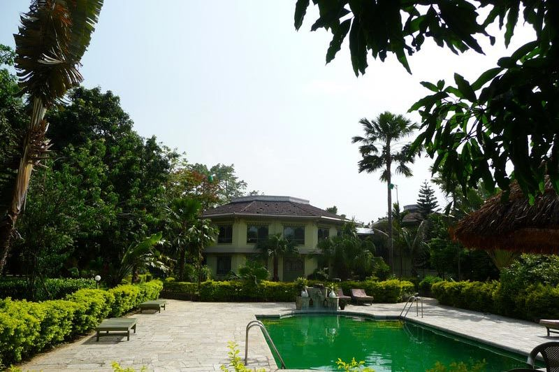 zwembad - Rhino Residency Resort - Chitwan National Park - Nepal
