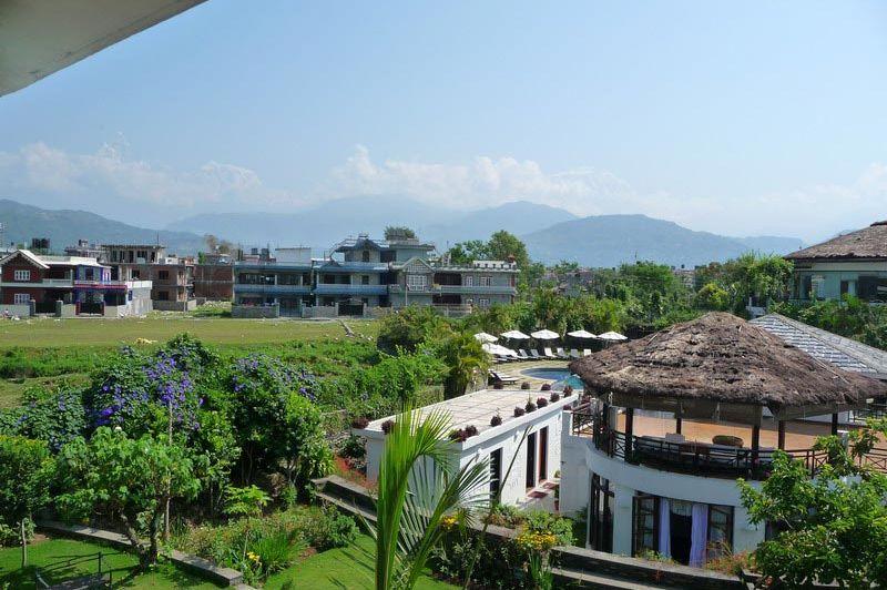 uitzicht - Shangri-la Village Resort - Pokhara - Nepal