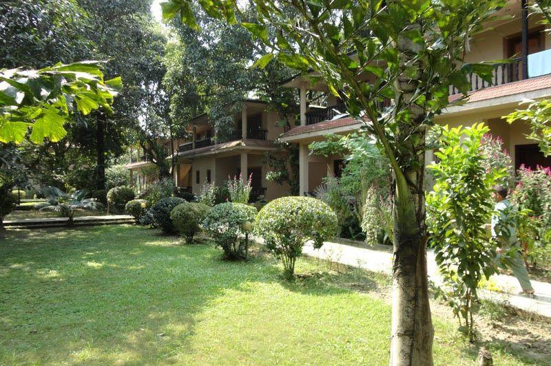 vooraanzicht - Hotel Parkland - Nepal