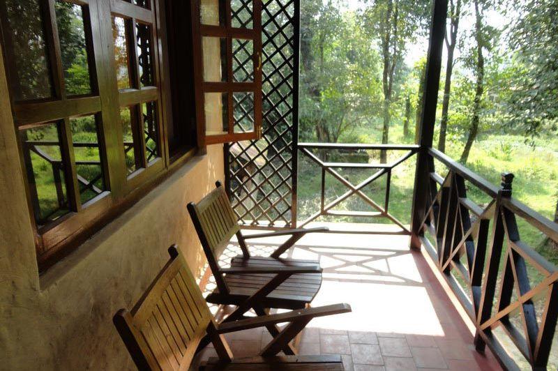 veranda - Hotel Royal Park - Nepal