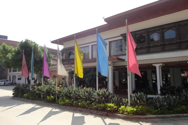 vooraanzicht - Hotel Malla - Nepal
