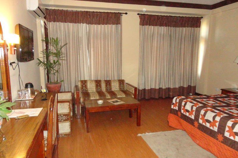 kamer 2 - Manang Hotel - Nepal