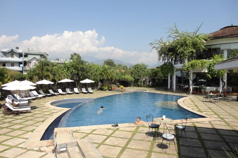 zwembad - Shangri-La Village Resort - Nepal
