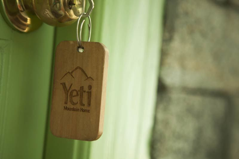 Tame Yeti Mountain Home detail sleutel - Nepal - foto: Yeti Mountain Homes