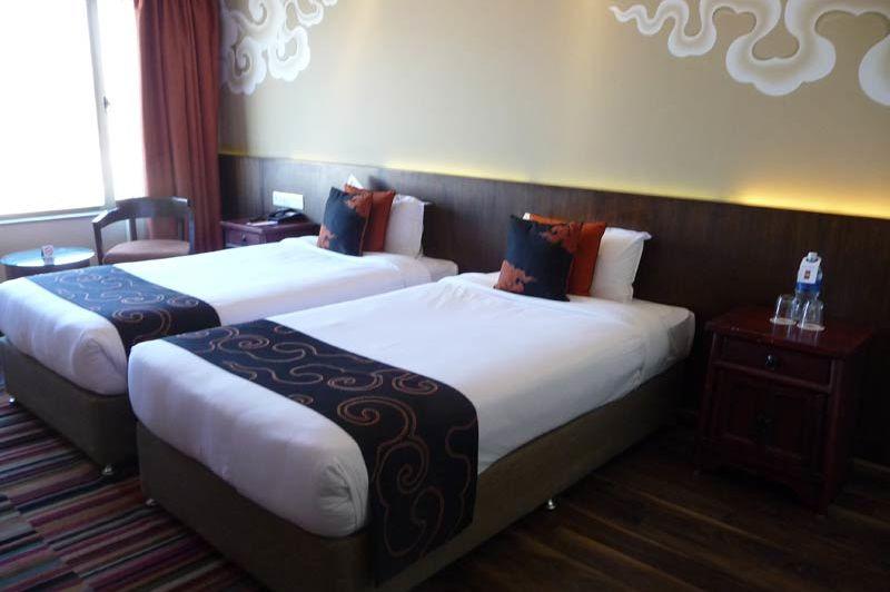 kamer hotel Shambala Kathmandu - Hotel Shambala - Nepal - foto: Floor Ebbers