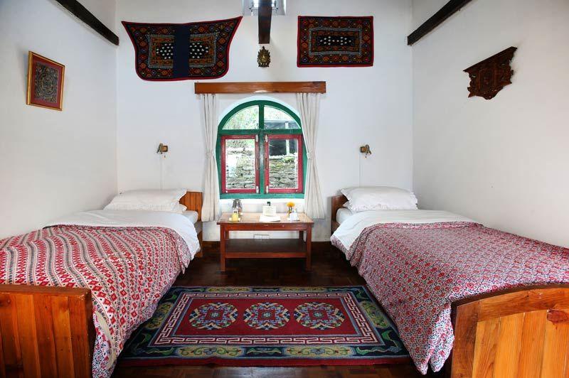 twin kamer Gurung Lodge Ker & Downey - Gurung Lodge Ker & DowneyGurung Lodge Ker & Downey - Nepal - foto: Gurung Lodge Ker & Downey