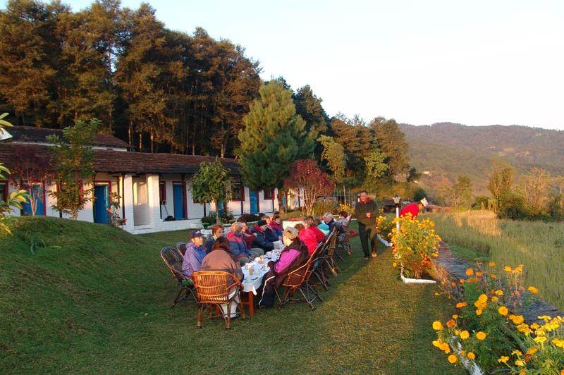 tuin Gurung Lodge Ker & Downey - Gurung Lodge Ker & DowneyGurung Lodge Ker & Downey - Nepal - foto: Gurung Lodge Ker & Downey