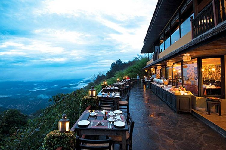 Country Villa bar in Nagarkot - Country Villa - Nepal - foto: Country Villa