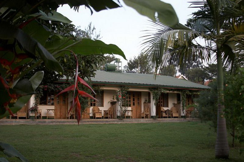 exterior - ruwenzori view - fort portal - Oeganda