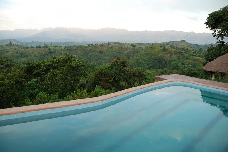 zwembad - Ndali Lodge - Oeganda - Oeganda
