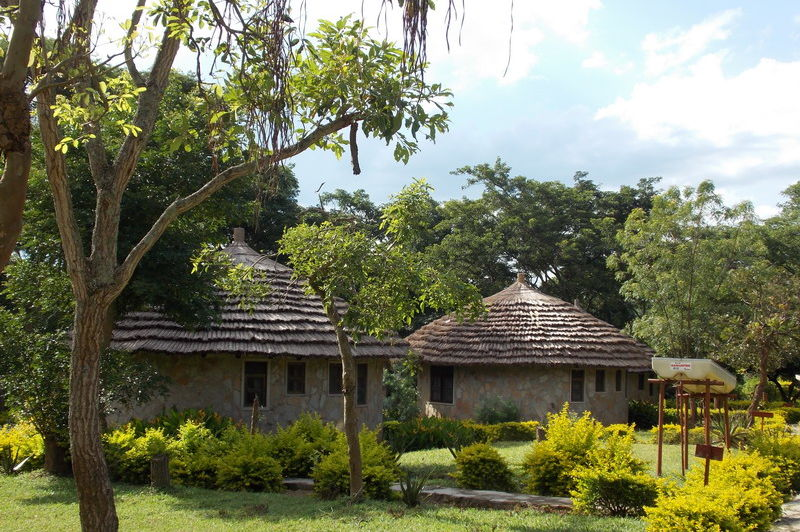 cottages - sambiya river lodge - Oeganda